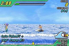 Pantallazo del juego online Kelly Slater's Pro Surfer (GBA)