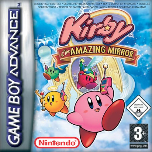 Portada de la descarga de Kirby and the Amazing Mirror