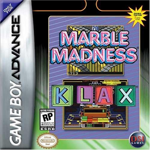 Portada de la descarga de Marble Madness – Klax