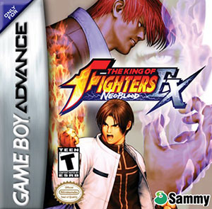 Juego online The King of Fighters EX: Neo Blood (GBA)