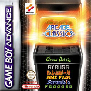 Portada de la descarga de Konami Collector's Series: Arcade Classics