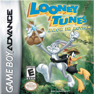 Juego online Looney Tunes: Back in Action (GBA)