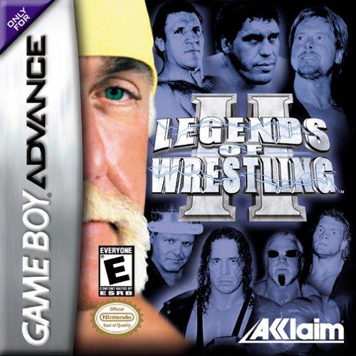 Portada de la descarga de Legends of Wrestling II