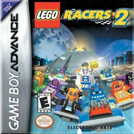 Portada de la descarga de LEGO Racers 2