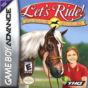 Portada de la descarga de Let's Ride Sunshine Stables