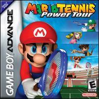 Carátula del juego Mario Tennis Power Tour (GBA)