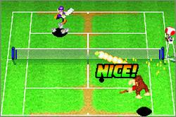 Pantallazo del juego online Mario Tennis Power Tour (GBA)