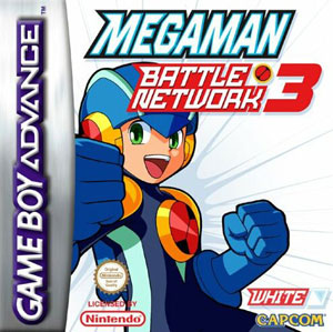 Portada de la descarga de Mega Man Battle Network 3 White