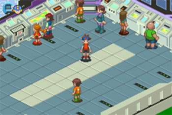 Imagen de la descarga de Mega Man Battle Network 3 White