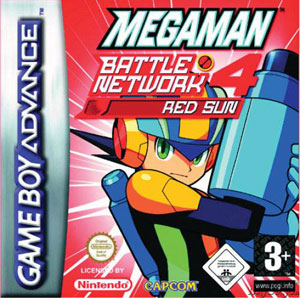 Juego online Mega Man Battle Network 4: Red Sun (GBA)