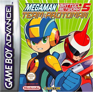 Juego online Mega Man Battle Network 5: Team Protoman (GBA)