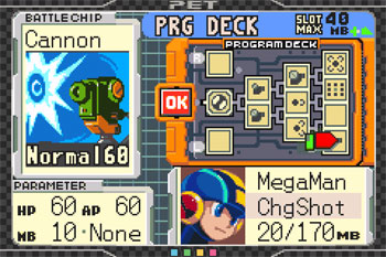 Imagen de la descarga de Mega Man: Battle Chip Challenge