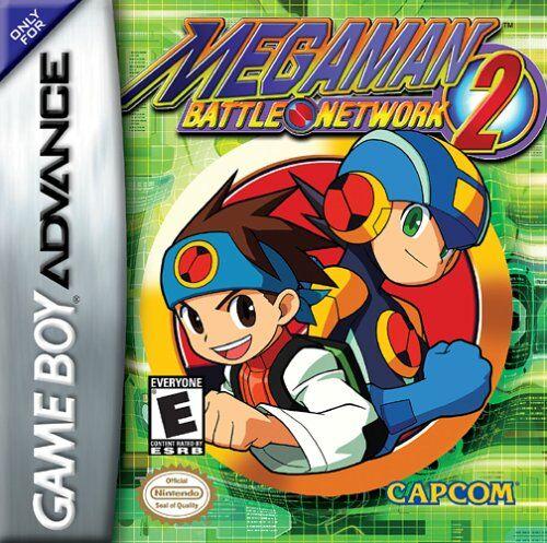 Carátula del juego Mega Man Battle Network 2 (GBA)