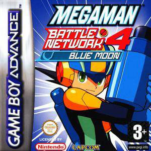 Portada de la descarga de Mega Man Battle Network 4 Blue Moon