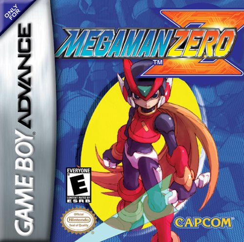Portada de la descarga de Mega Man Zero
