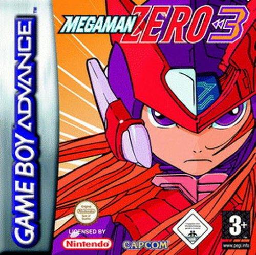 Portada de la descarga de Mega Man Zero 3