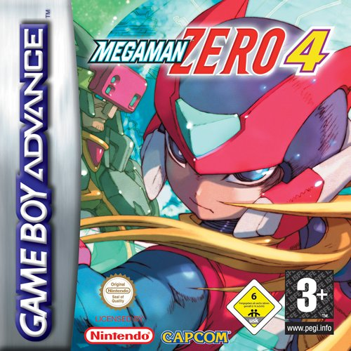Portada de la descarga de Mega Man Zero 4