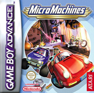 Portada de la descarga de Micro MAchines