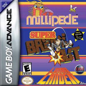 Juego online Millipede & Super Breakout & Lunar Lander (GBA)