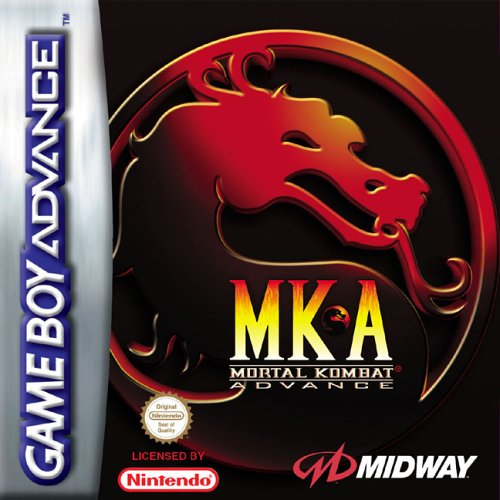Portada de la descarga de Mortal Kombat Advance