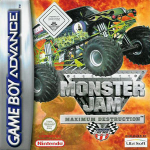 Portada de la descarga de Monster Jam: Maximum Destruction