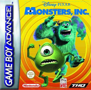 Juego online Disney-Pixar's Monsters, Inc. (GBA)