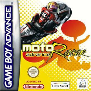 Portada de la descarga de Moto Racer Advance