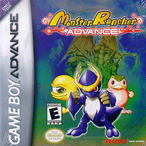 Portada de la descarga de Monster Rancher Advance