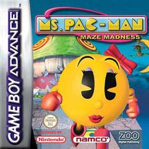 Portada de la descarga de Ms Pac-Man Maze Madness