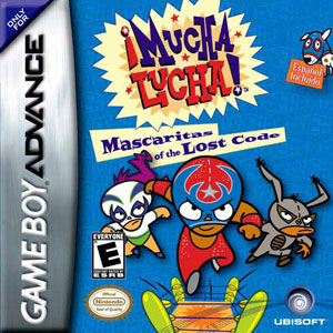 Juego online Mucha Lucha! Mascaritas of the Lost Code (GBA)