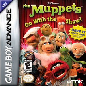 Portada de la descarga de Jim Henson's The Muppets: On With the Show!
