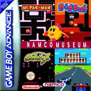 Portada de la descarga de Namco Museum