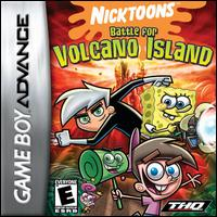Portada de la descarga de Nicktoons: Battle For Volcano Island