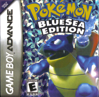 Portada de la descarga de Pokemon BlueSea Edition