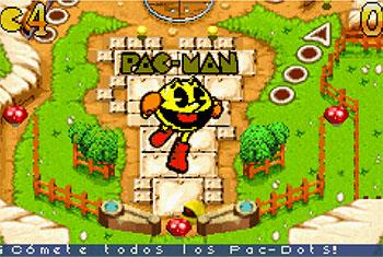 Imagen de la descarga de Pac-Man Pinball Advance