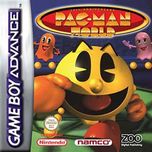 Portada de la descarga de Pac-Man World