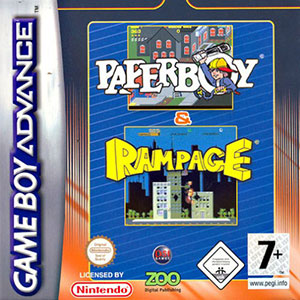 Juego online Paperboy - Rampage (GBA)