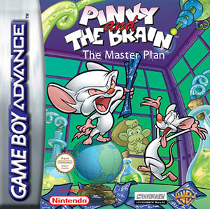 Portada de la descarga de Pinky and The Brain: The Master Plan