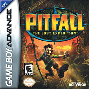 Juego online Pitfall: The Lost Expedition (GBA)