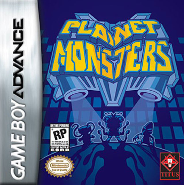 Portada de la descarga de Planet Monsters
