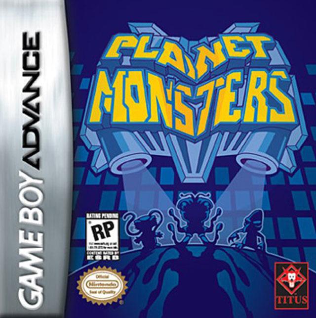 Portada de la descarga de Planet Monsters