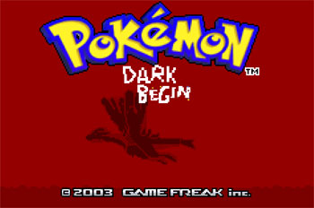 Juego online Pokemon Dark Begin (GBA)