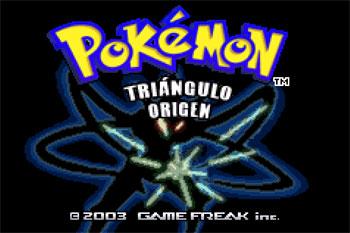 Juego online Pokemon Triangulo Origen (GBA)
