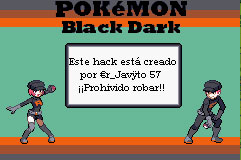 Portada de la descarga de Pokemon Black Dark