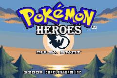 Portada de la descarga de Pokemon Heroes