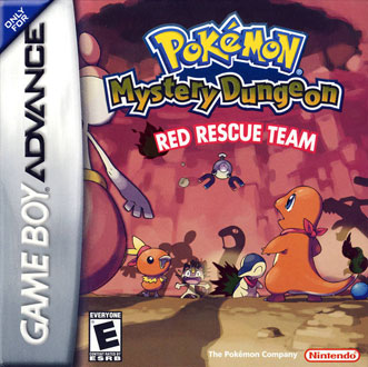 Juego online Pokemon Mystery Dungeon: Red Rescue Team (GBA)