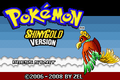 Carátula del juego Pokemon Shiny Gold (GBA)