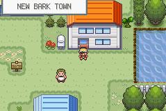 Pantallazo del juego online Pokemon Shiny Gold (GBA)