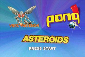 Imagen de la descarga de Pong & Asteroids & Yars' Revenge