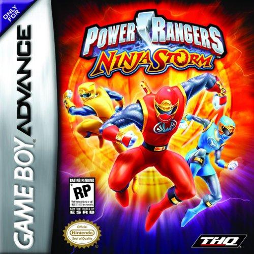 Portada de la descarga de Power Rangers: Ninja Storm
